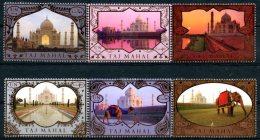 ONU Vienne 2014 - Patrimoine Mondial Inde - 6 Timbres Détachés De Carnet De Prestige ** MNH PF - Unused Stamps