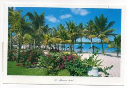 """Ile MAURICE---2002---Le Mauricia Hotel ,cpm------Beau Timbre """"Poisson"""" Au Verso - Mauritius"""