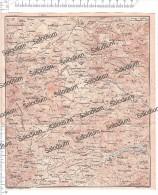 LA SILA GRANDE - Mappa Cartina Originale D´epoca - Mappe