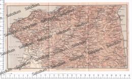 STILO S. CATERINA DEL IONIO BADOLATO DAVOLI CHIARAVALLE GASPERINA MONTELEONE PIZZO GIOIA Mappa Cartina Originale D´epoca - Mappe