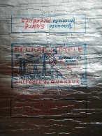 T729 / étiquette D´emballage Beurre De Table De La Laiterie Du Quereux à ROCHEFORT SUR MER - Charente-Maritime - Factures