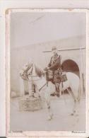CASSAIGNE ORAN ALGERIE  PHOTO ANCIENNE D´UN GENDARME A CHEVAL 1901 - Krieg, Militär