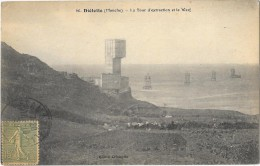 DIELETTE (50) Mine  Tour D'extraction Et Le Warf - France