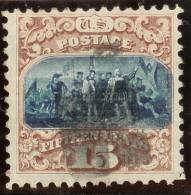 USA 1869 15 Cent Typ 1 Mi# 32 I Abart Blaudruck Versch. - Used Stamps