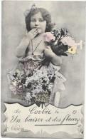 CORBIE (80) Carte Fantaisie Souvenir Enfant - Corbie