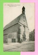 CPA  FRANCE  18  ~  SAINT-AMAND-MONTROND  ~  111  Eglise Des Carmes  ( Nouvelles Galeries )  Animée - Saint-Amand-Montrond