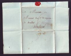 FRANCE 1783 HONFLEUR ENTIRE LETTER - Unclassified