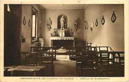 - Doubs - Ref- A783 -  Santorium Hopital Des Tilleroyes Pres Besançon - Chapelle De La Communaute - Carte Bon Etat - - Francia