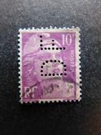 FRANCE D N° 811 DF 49 Indice 2 Marianne De Gandon Perforé Perforés Perfins Perfin Superbe - France