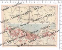 PESTO METAPONTO REGGIO CALABRIA  - Mappa Cartina Originale D´epoca - Mappe