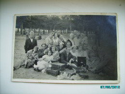 PICNIC WITH GRAMOPHONE , OLD POSTCARD , 0 - Europe