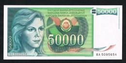 ***  JOEGOSLAVIE  50.000 DINARA  1988 NIEUW - Yougoslavie