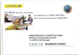 LCH- PRET A POSTER  DE SERVICE DE LA DIRECTION DE LA POSTE DU CHER - RARE - Entiers Postaux