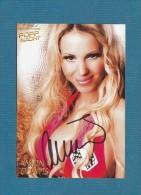 Annina Ucatis (  Partysängerin Und Ehemalige Pornodarstellerin )  - Persönlich Signiert - Autographes
