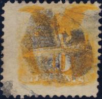 USA 1869 10Cent Mi# 28 Gestempelt - Oblitérés