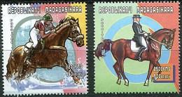 Madagascar 2000 2 V MNH  J.O. De Sydney Equestrian Hippisme Horses Horse Chevaux Cheval - Summer 2000: Sydney