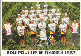 EQUIPO - CAFE DE COLOMBIA 1987 - Cycling