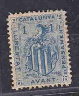 SPAIN CINDERELLA 1899 SHIELD CATALUNIA AAE4007 - Erinnophilie