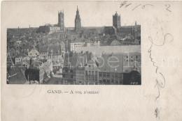 GENT / GHENT / GAND / De Drie Torens: De Sint-Niklaaskerk, Het Belfort En De Sint-Baafskathedraal - Gent