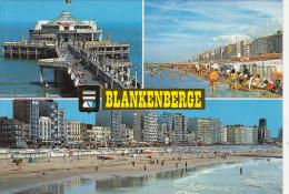 23359- BLANKENBERGE- SEA RESORT, BEACH, PIER, SKYLINE - Blankenberge