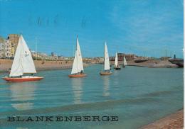 23362- BLANKENBERGE- SEA RESORT, BEACH, YACHTING - Blankenberge