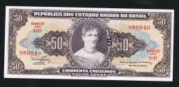 ***  BRAZILIE  50  CRUZEIROS NIEUW - Brésil