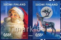 Finland - 2010 - Christmas - Mint Stamp Set - Finland