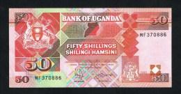 ***  OEGANDA  50  SHILLINGS  1996 - Ouganda