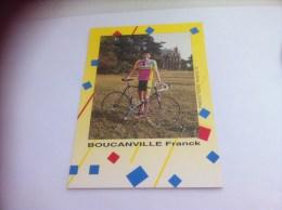FRANCK BOUCANVILLE  (2015) - Cyclisme