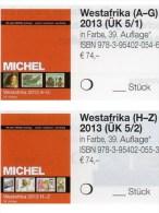 West-Afrika Band 5/1+2 MICHEL 2013 Neu 148€ Katalog Africa Benin Mali Burkina Faso Togo Gambia Niger Ghana Guinea Bissau - Télécartes