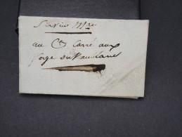FRANCE - Lettre ( Avec Texte ) Du 15 Juin 1798 - à Voir - Lot P7550 - Marcophilie (Lettres)
