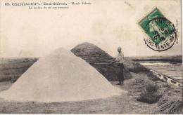 ILE D'OLERON MARAIS SALANTS LE MULON DE SEL EST TERMINE - Ile D'Oléron