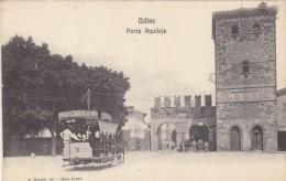 Udine - Piazza Aquileja Con Tram Cavallo    (120607) - Udine