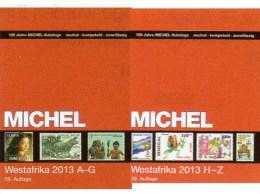 Catalogue West-Africa Band 5 I+II MICHEL 2013 New 148€ A-Z Benin Mali Burkina Faso Togo Gambia Niger Ghana Guinea Bissau - Schede Telefoniche