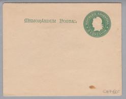 Argentinien 1900 Ganzsache 5Cent Gr.Bild Braun + 100 R. - Entiers Postaux