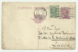 Cartolina Postale Affrancata 5 Centesimi 1923 - 1900-44 Victor Emmanuel III.