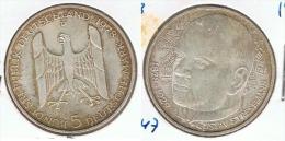 ALEMANIA 5 DEUTSCHE MARK D 1978 PLATA SILVER G1 - [ 6] 1949-1990 : RDA - Rep. Dem. Alemana