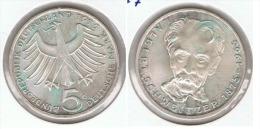 ALEMANIA 5 DEUTSCHE MARK G 1975 PLATA SILVER G1 - [ 6] 1949-1990 : RDA - Rep. Dem. Alemana