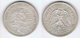 ALEMANIA 5 DEUTSCHE REICHSMARK A 1927 PLATA SILVER G1 - [ 6] 1949-1990 : RDA - Rep. Dem. Alemana