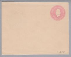 Argentinien 1899 Ganzsache 5 Cent Rosa Bildzudruck - Entiers Postaux