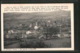 CPA Blanot, Vue Générale - France