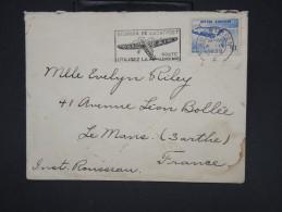 BELGIQUE - Enveloppe De Anvers Pour La France En 1939  - à Voir - Lot P7560 - Belgium