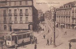 Cagliari - Corso Vittorio Emanuele Con Tram In Primo Piano     (120607) - Cagliari