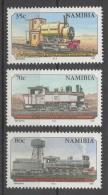 Namibia 1995 - Locomotive Treni Locomotives Trains MNH ** - Namibia (1990- ...)