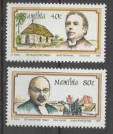 Namibia 1995 - Missionari Missionaries MNH ** - Namibia (1990- ...)