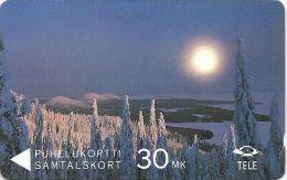 Finland (Sonera) - Winterview From Koli, 11FINA, 09-1992, 100.000ex, Used