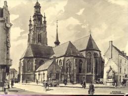handtekening burgemeester & secretaeis stad Roeselare 1975 - illustr. Herman Verbaere