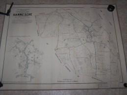PLANS POPP  --  HANESCHE - Carte Geographique