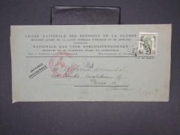 BELGIQUE - Bande Journal De Bruxelles Pour Paris En 1941 Avec Controle Postal Allemand - à Voir - Lot P7564 - Belgium