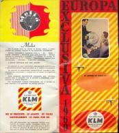 Brochure Toerisme Tourisme - Europa Vliegvakanties KLM 1960 - Dépliants Touristiques